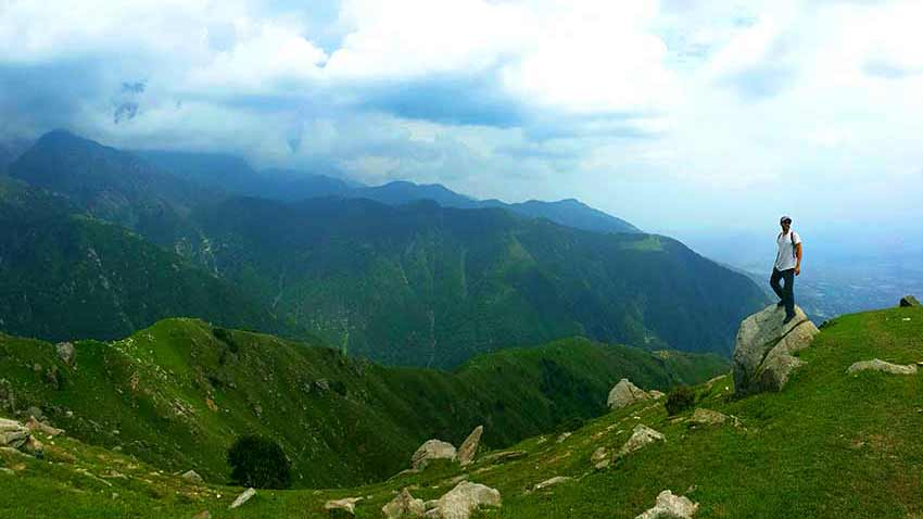 Rurta a Triund Hill