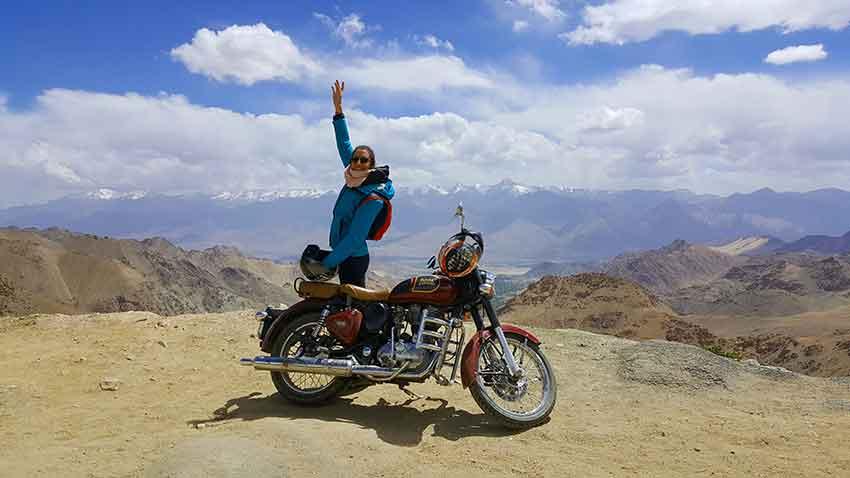 khardung la alquiler de moto