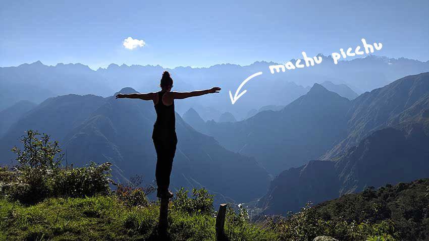 Ruta Salkantay mirador machupicchu