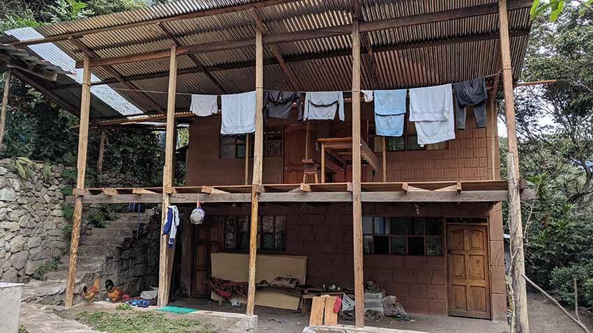Alojamiento de Mery en Lucmabamba