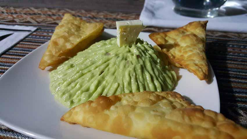 Comida en Lucmabamba