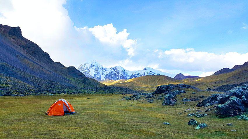 Ausngate trek acampar