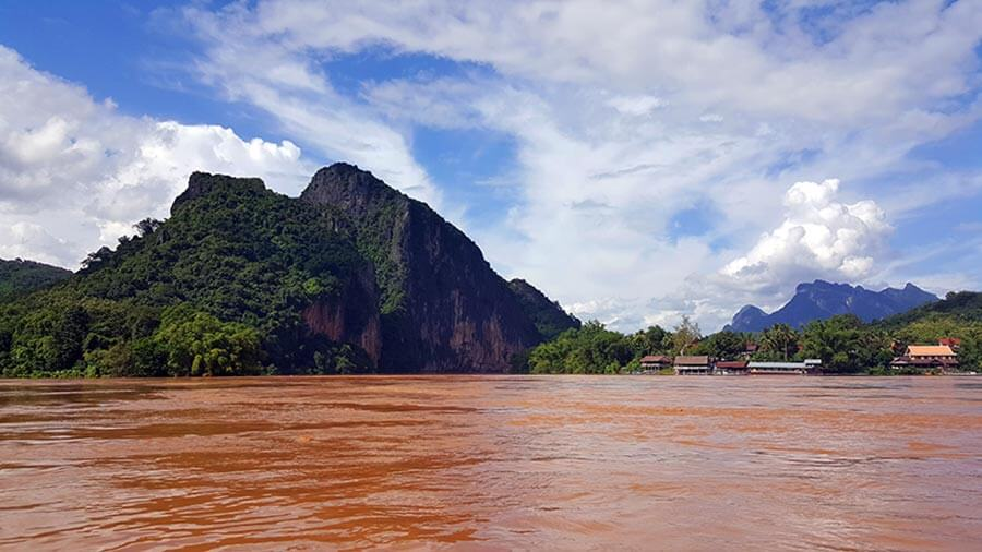 Rio Mekong frontera tailandia laos