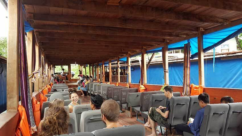 Barco a Luang Prabang