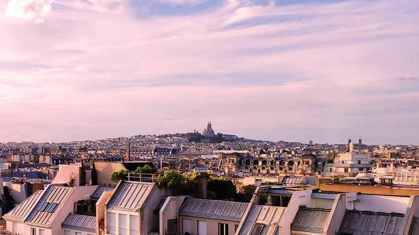 Vistas del Butte Montmartre