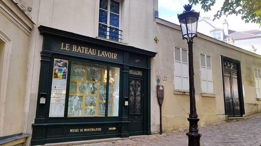 Bateaux Lavoir Picasso Montmartre
