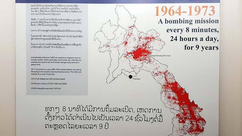 Bombardeos laos guerra secreta
