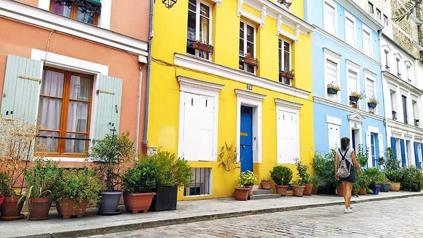 Calles bonitas paris