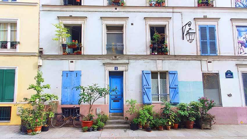 Calles pintorescas Paris