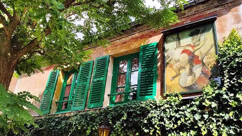 Lapin Agil cabaret barrio Montmartre