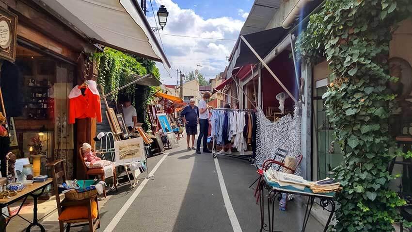 Calle del mercado de saint ouen