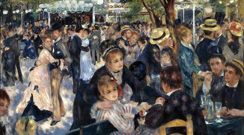Baile en el Moulin de la Galette Renoir