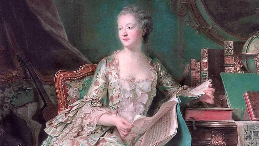 Versalles historia de Madame Pompadour