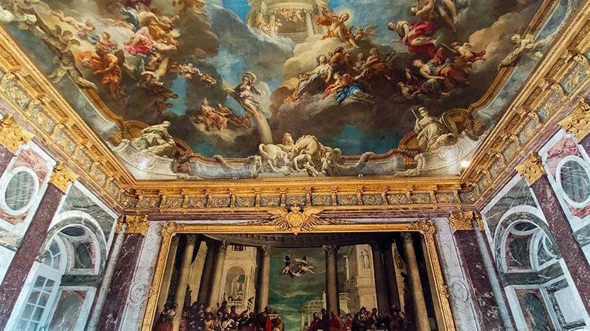 Salon de Hercules Versalles