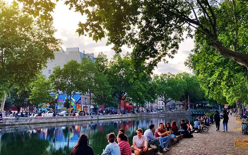 planes gratis paris canal saint martin