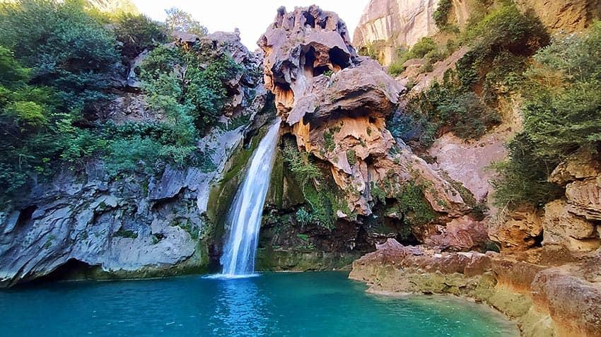 cascada calavera rio borosa