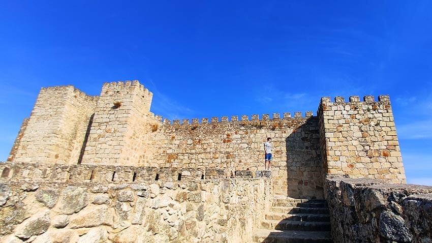 castillo de trujillo, extremadura